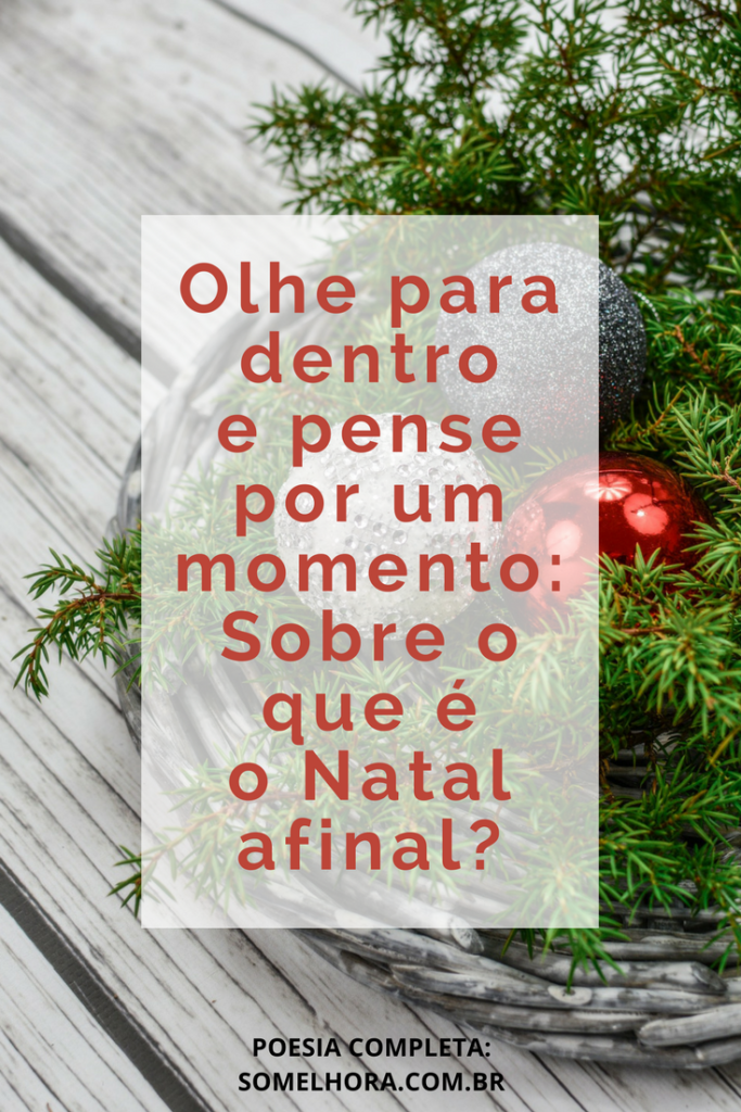 frase destacada do poema de natal
