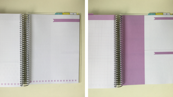 mais exemplos de páginas do daily planner 2019 Paperview