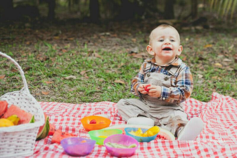 O Décimo Primeiro Mês do bebê e a aparição dos dentes
