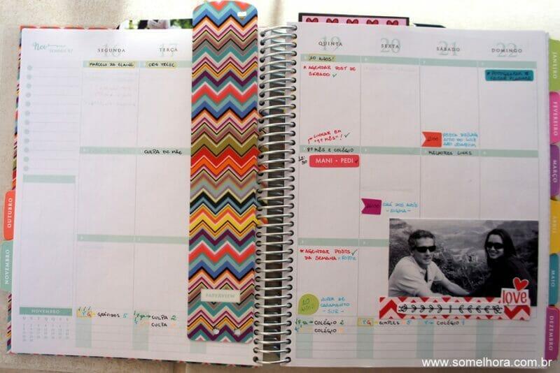 como organizo minha vida - meu planner
