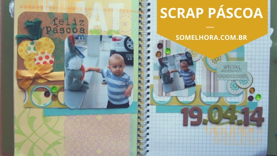Scrap Páscoa (inspiração para fazer em casa)