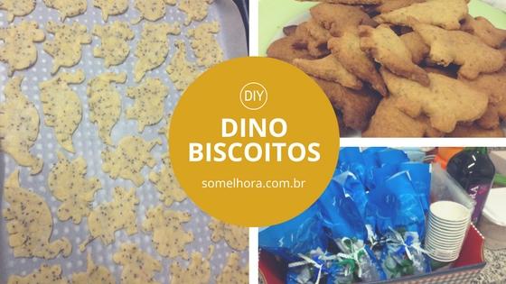 Dino Biscoitos (DIY – receita e embalagem)
