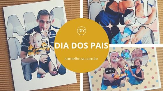 DIY Cartão Dia dos Pais – passo a passo fácil!