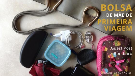 O que não pode faltar na bolsa de uma mãe de primeira viagem