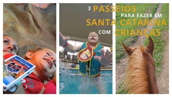 3 passeios para fazer em Santa Catarina com Crianças