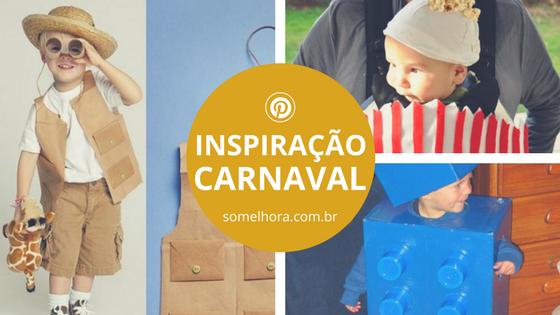 Fantasia de Carnaval: para fazer para o filhote agora mesmo!
