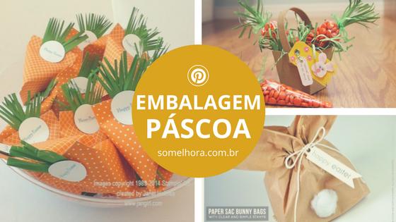 Embalagens de Páscoa: inspiração para fazer em casa!
