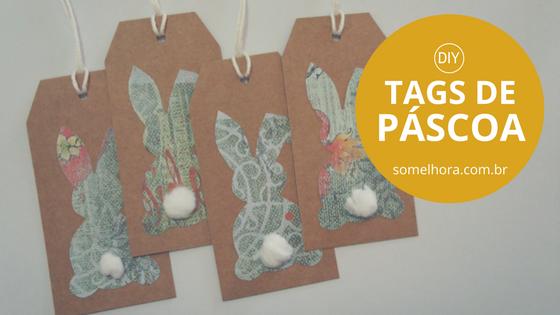 DIY Tag de Páscoa: para deixar seus presentes mais charmosos!