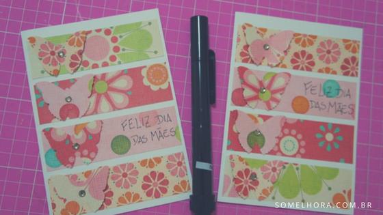 cartão de borboletas