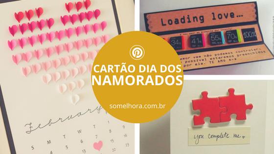 Cartão Dia dos Namorados: ideias bem diferentes e originais