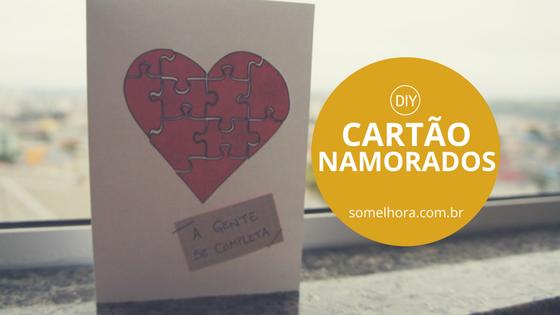 DIY Dia dos Namorados: a gente se completa!