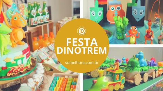 Festa Dinotrem: ideias e muita inspiração para fazer a sua!