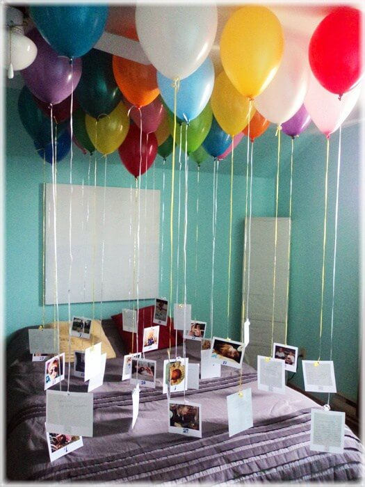 presente dia dos pais balões