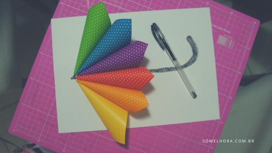 quadro de guarda-chuva