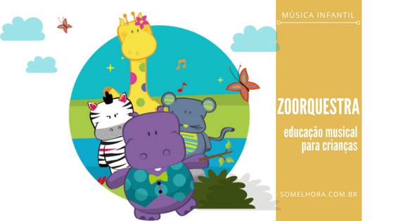 Zoorquestra: música e animais para divertir a criançada