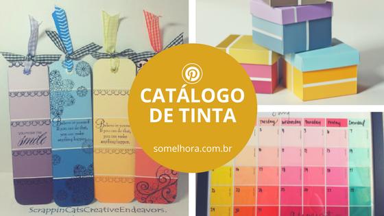 Scrap com catálogo de tinta (paint chip)