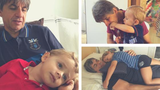 imagens de avô e neto