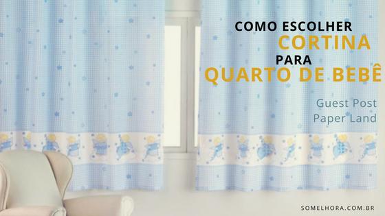 Dicas para escolher a cortina para quarto de bebê perfeita
