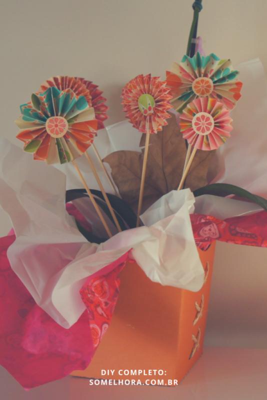 flores de papel imagens