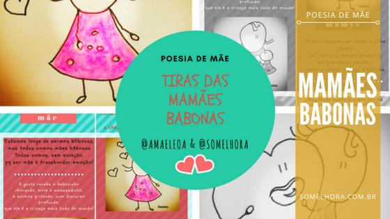MAMÃES BABONAS: poesia de mãe em quadrinhos! ✏