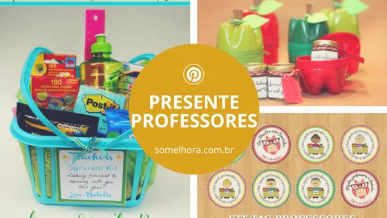 Inspiração de presentes para o Dia dos Professores