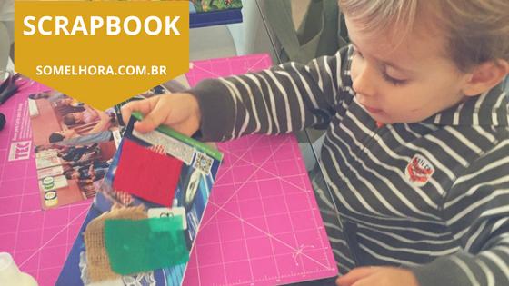 Scrapbook para crianças: fazendo scrap com os pequenos