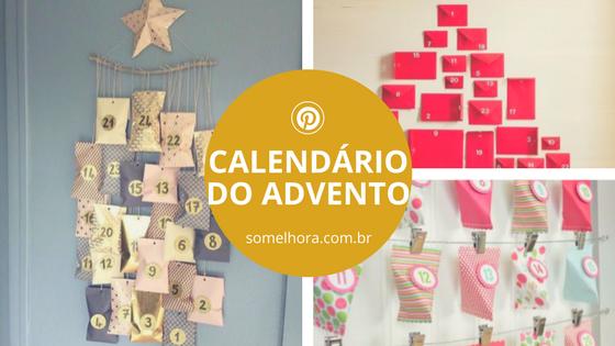Calendário do Advento: ideias bacanas para fazer o seu!