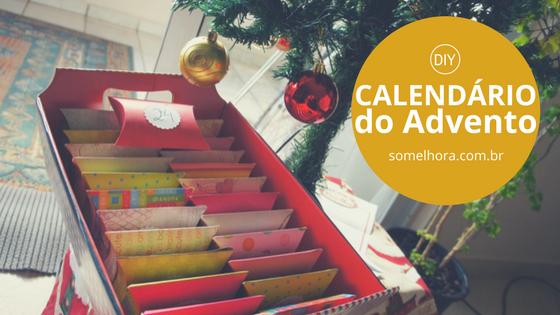 DIY Calendário do Advento para crianças