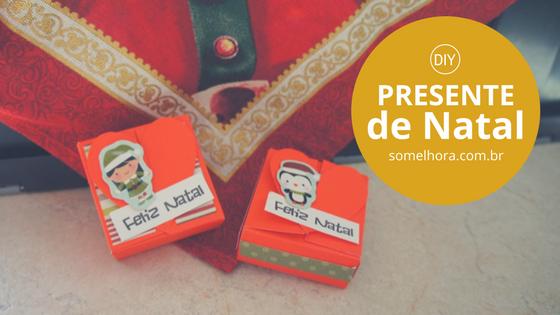 DIY Presente de Natal – caixinha de coração