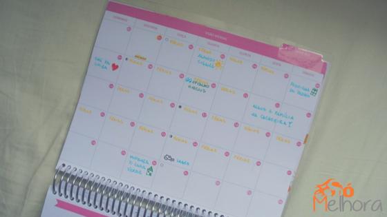 imaem do calendário mensal do Enjoy Planner