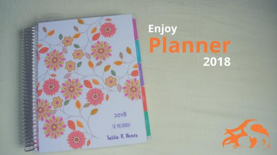 Enjoy Planner 2018: meu planner 2018 (review)