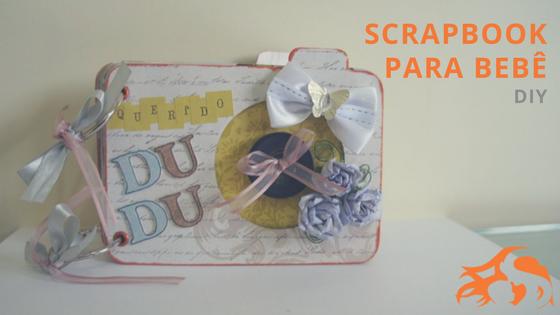 DIY Scrapbook para bebê: álbum de memórias