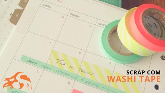 Washi tape: para que serve e como fazer scrap com ela