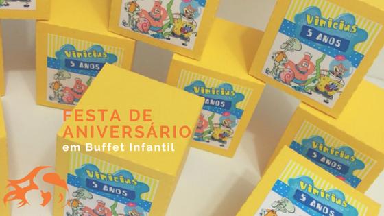 Festa de aniversário em buffet infantil: teremos por aqui!