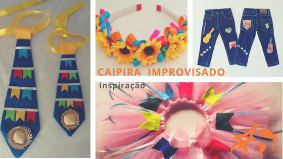 Caipira improvisado: inspiração Festa Junina de última hora