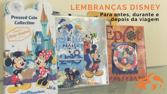 3 lembranças Disney para colecionar com crianças