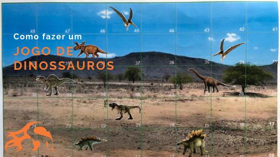 DIY Jogo Dinossauros: para fazer em casa com as crianças!