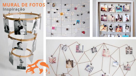 Mural de fotos: inspiração para fazer o seu [+70 ideias!]