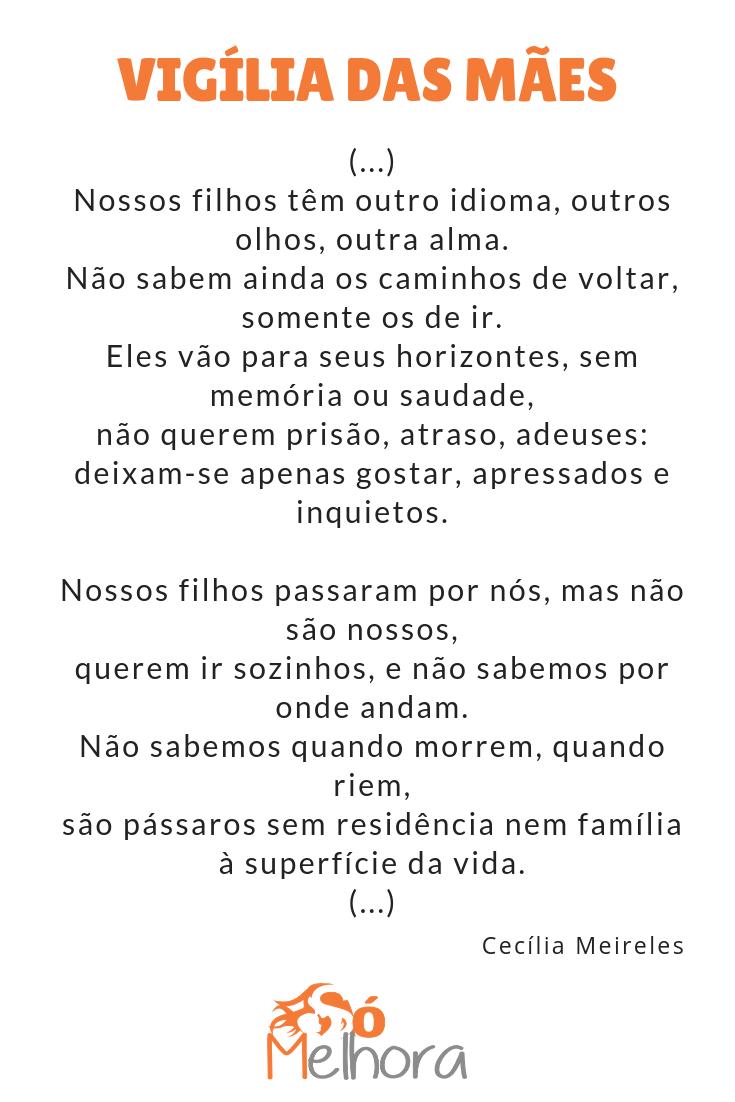 íntegra do poema sobre família de cecília meireles