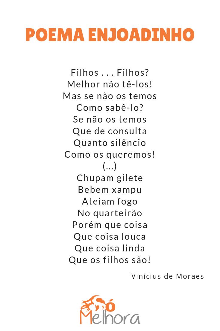íntegra do poema sobre família de vinicius de moraes