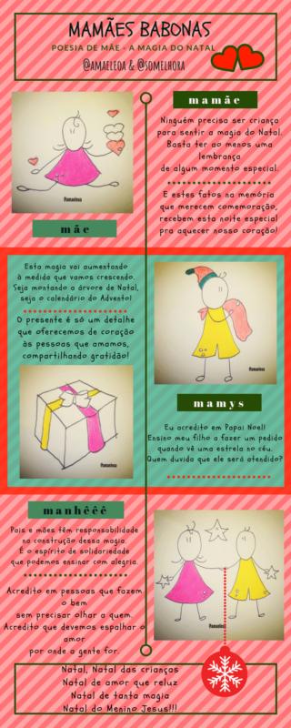 tirinhas na íntegra: magia do natal em quadrinhos