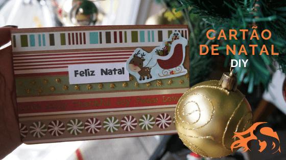 DIY Cartão de Natal rápido {para fazer em 15 minutos!}