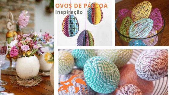 Ovos de Páscoa decorativos – sem chocolate!
