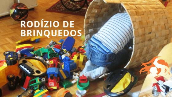 Rodízio de brinquedos: por que e como fazer na sua casa