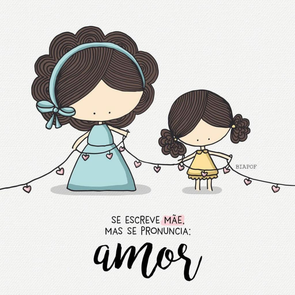 imagem de cartão virtual para mãe