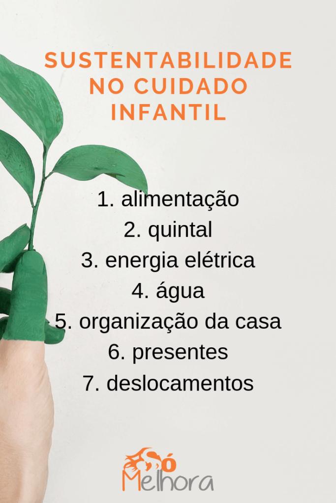 imagem de uma mãe segurando uma planta - sustentabilidade