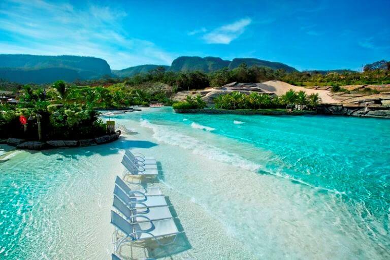 imagem paradisíaca de caldas novas - melhores destinos nacionais