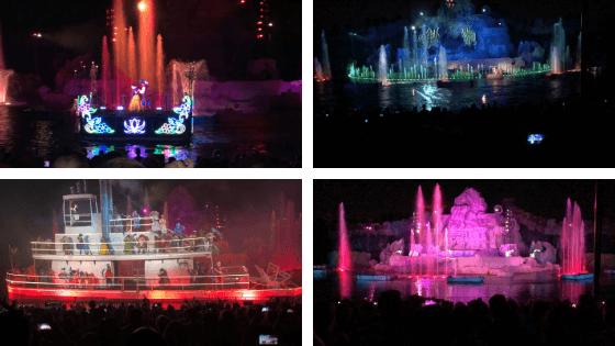 imagens do show de fogos fantasmic