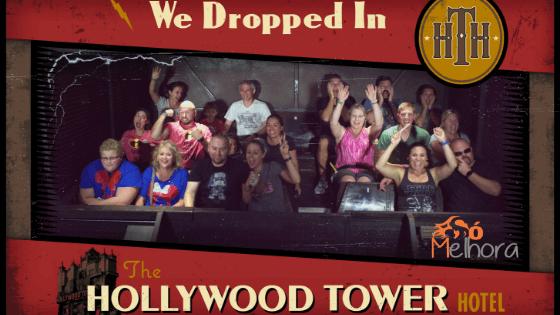 foto da torre do terror do hollywood studios
