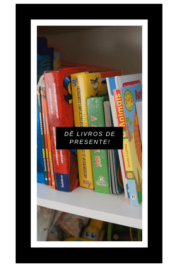 imagem de diversos livros infantis